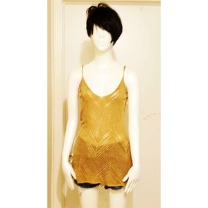Forever 21 Gold Sweater Top